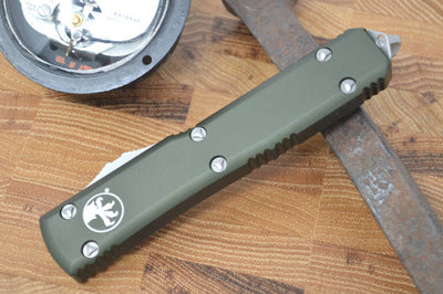 Microtech Ultratech OTF - Double Edge / Satin Blade / OD Green Body - 122-4OD