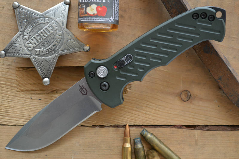 Gerber 06 10th Anniversary Auto Knife - Northwest Knives