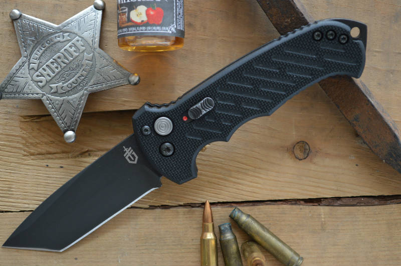 Gerber 06 Automatic in S30V Tanto Blade - Northwest Knives Meridian Idaho