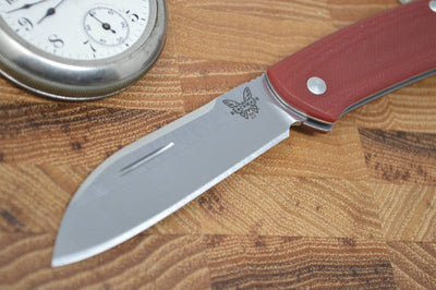 Benchmade 319-1 Proper Sheepsfoot Blade - G10 Handle - Traditional Folder