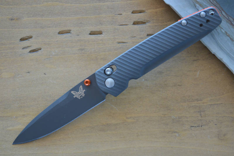 Benchmade 485GRY-1801 Ltd Edition Titanium Valet Gentleman's Folder - Northwest Knives