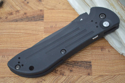 Benchmade 9101BK Auto Stryker - Black Tanto Blade - Automatic - Northwest Knives