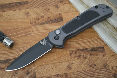Benchmade 9750BK Mini Coalition - Black Plain Edge - Automatic - Northwest Knives