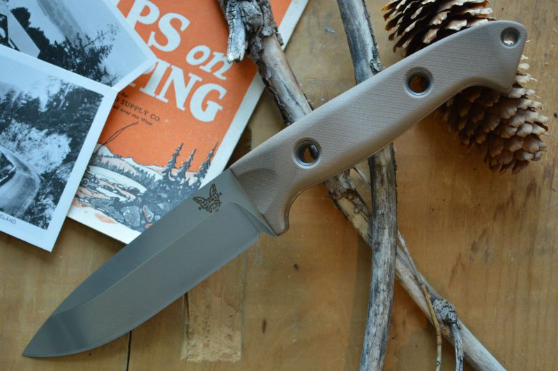 Benchmade 162-1 Bushcrafter - Fixed Blade - Northwest Knives