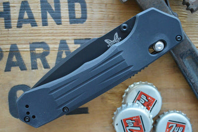 Benchmade 407SBK Vallation Tactical Knife - Assisted Opening