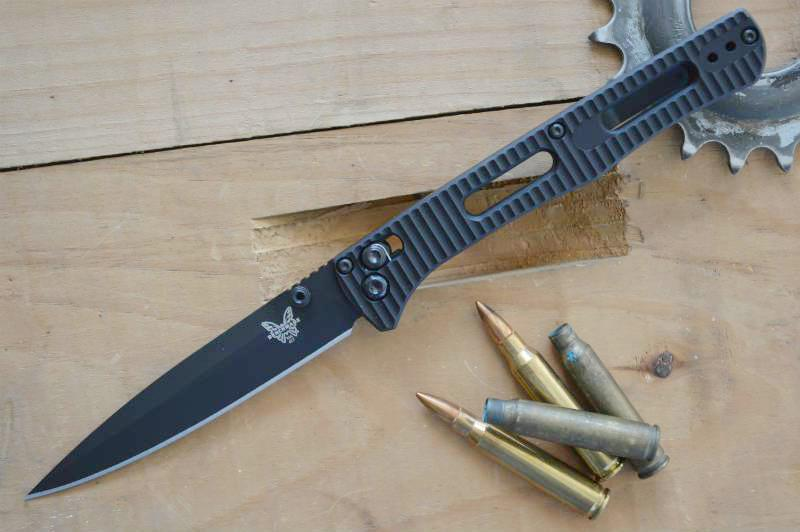 Benchmade 417BK Fact Tactical Knife - Manual Folder - Northwest Knives
