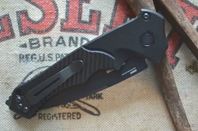 Benchmade 9600SBK Ruckus Clip Side Closed