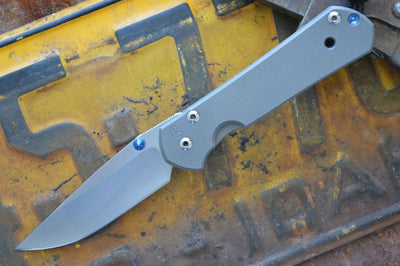 Chris Reeve Knives Small Sebenza 21 - Drop Point - Northwest Knives