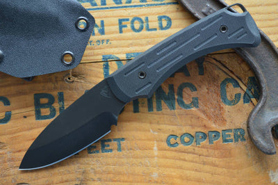 Medford Knife & Tool Colonial - Black G10  - Fixed Blade - Northwest Knives
