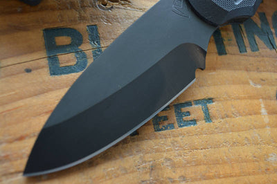 Medford Knife & Tool Colonial - Black G10  - Fixed Blade