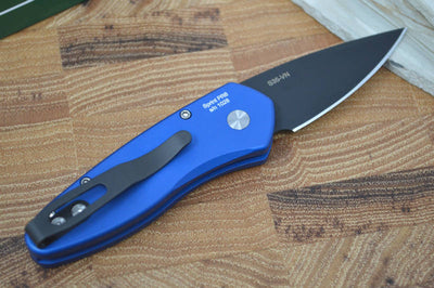 Pro Tech Sprint Auto - Dark Blue Handle - S35VN Black Blade - Northwest Knives