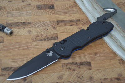 Benchmade 917BK-1901 Triage - Thin Blue Line Edition
