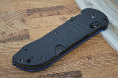 Benchmade 917SBK-1901 Triage Serrated - Thin Blue Line Edition