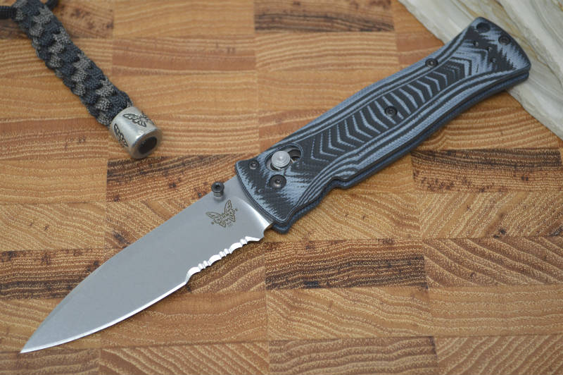 Benchmade 531S Pardue Lightweight Axis Folder - Partial Serrated - Northwest Knives