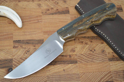 Arno Bernard Sailfish - Giraffe Bone Handle - N690 Steel - Northwest Knives