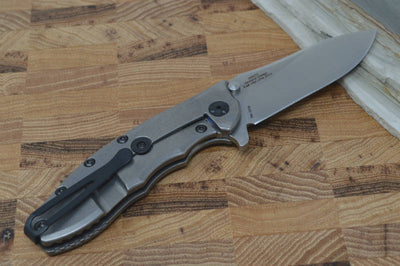Zero Tolerance 0562TI Hinderer Designed Flipper