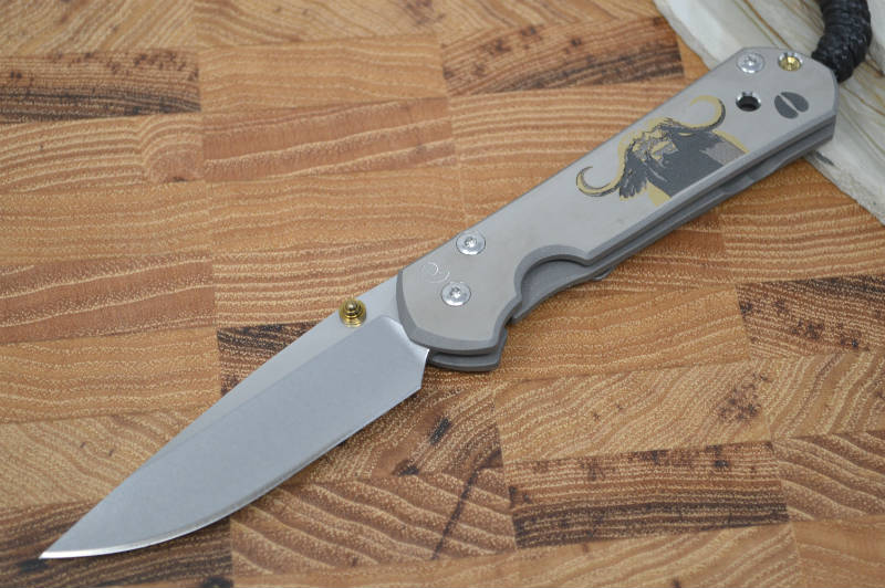 "Chris Reeve Knives Small Sebenza 21 - CGG ""Cape Buffalo"" - Northwest Knives"