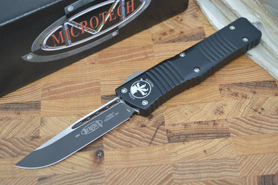 Microtech Combat Troodon OTF - Single Edge / Black Blade - 143-1 - Northwest Knives
