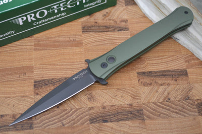 "Pro Tech ""The Don"" Auto - Green Handle - Black 154CM Blade"