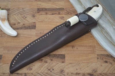 Arno Bernard Fin & Feather - Warthog Tusk Handle / N690 Blade