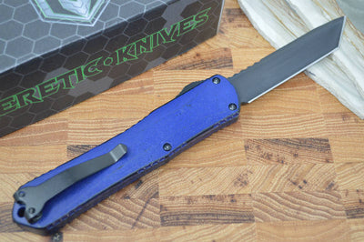 Heretic Knives Manticore X OTF - Break Through Blue / DLC Tanto