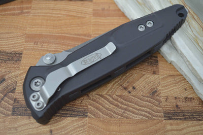 Microtech SOCOM Elite - Apocalyptic Blade / Black Handles w/ Black Inserts 160-10AP - Northwest Knives