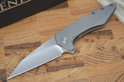 Koenig Mini Goblin - Standard with Polished Flats - M390 Blade - Northwest Knives