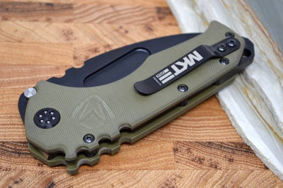 Medford Knife & Tool Scout - OD Green G10 Handle - D2 Blade