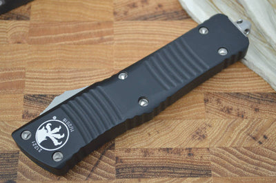 Microtech Combat Troodon OTF - Double Edge / Black Blade - 142-1 - Northwest Knives