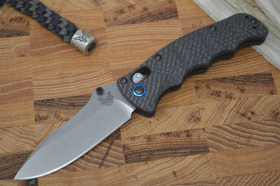 Benchmade 484-1 Nakamura Designed Folder - Carbon Fiber / S90V - Northwest Knives
