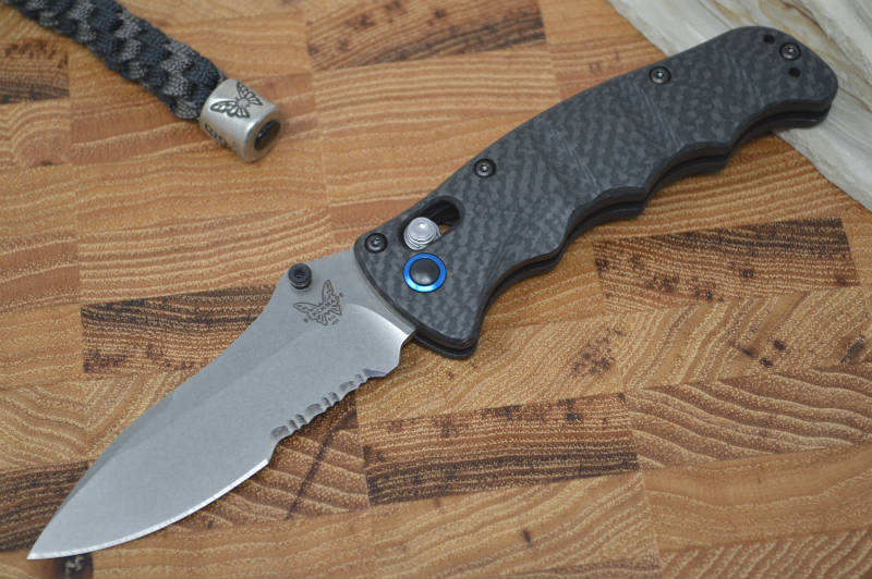 Benchmade 484S-1 Nakamura Designed Folder - Carbon Fiber / S90V - Northwest Knives