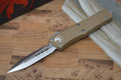 Microtech Troodon OTF - Double Edge / Tan Handle - 138-4TA - Northwest Knives