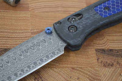 Benchmade 535-191 Gold Class Bugout - Damasteel Blade & Ghost Carbon Fiber - Northwest Knives