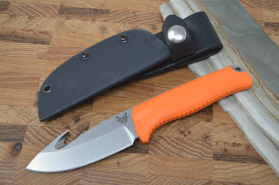 Benchmade 15009-ORG Steep Country Hunter with Orange Rubber Handle - Northwest Knives