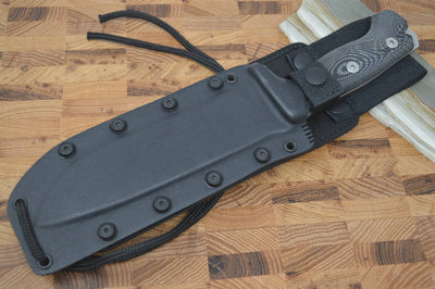 Lionsteel M7 Fixed Blade Hunting Knife - Black Micarta - Northwest Knives