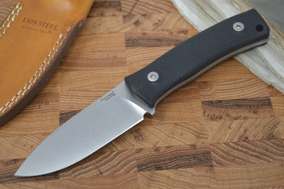 Lionsteel M4 Hunting Knife w/ Black G10 Handle - Fixed Blade - Northwest Knives
