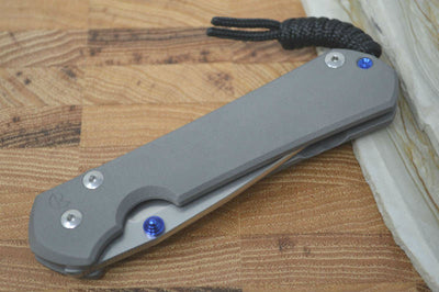 Chris Reeve Knives Large Sebenza 31 - Drop Point Blade