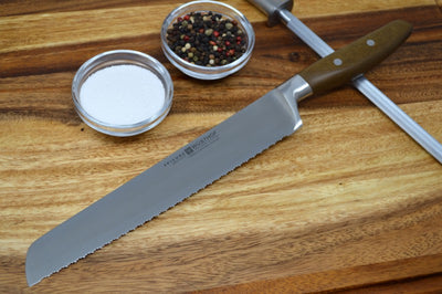 "Wusthof Epicure - 9"" Double Serrated Bread Knife"