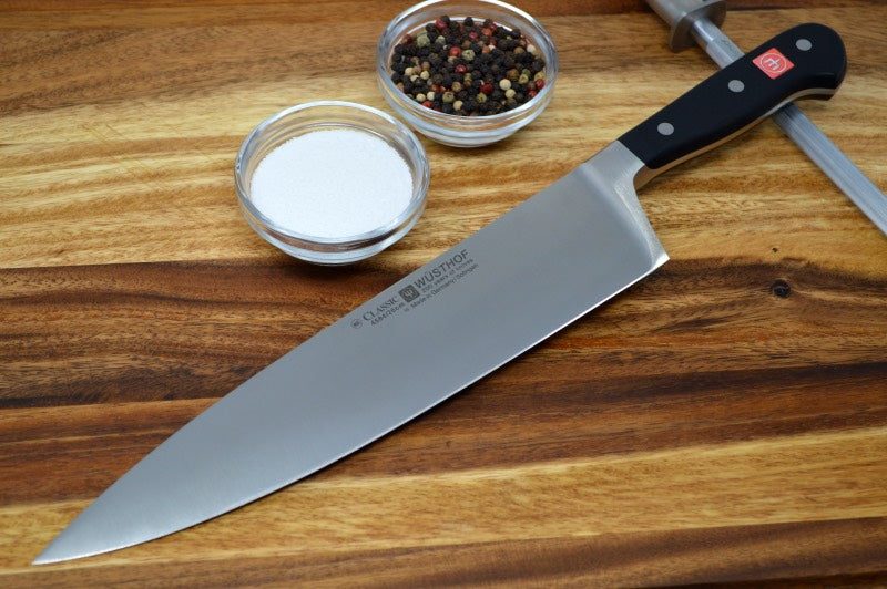 "Wusthof Classic - 10"" Chef's Knife Extra Wide"