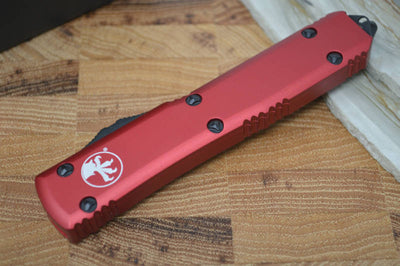 Microtech Ultratech OTF - Red Handle / Black Tanto Blade 123-1RD