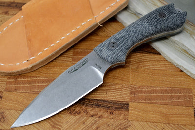 Bradford Knives Guardian 3 - 3D Black Micarta Handle / M390 Blade / False Flat Grind