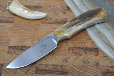 Arno Bernard Nyala - Giraffe Bone Handle - N690 Steel