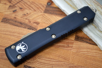 Microtech Ultratech OTF - Bronze Finish / Single Edge Blade / Black Aluminum Handle 121-13