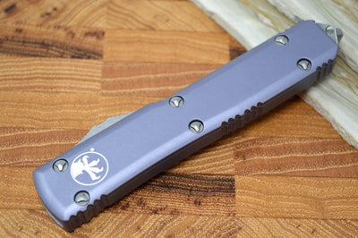 Microtech Ultratech OTF - Apocalyptic Bayonet Standard / Gray Handle 120-10APGY