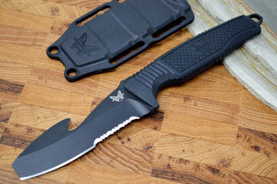Benchmade 112SBK-BLK H2O- Fixed Blade