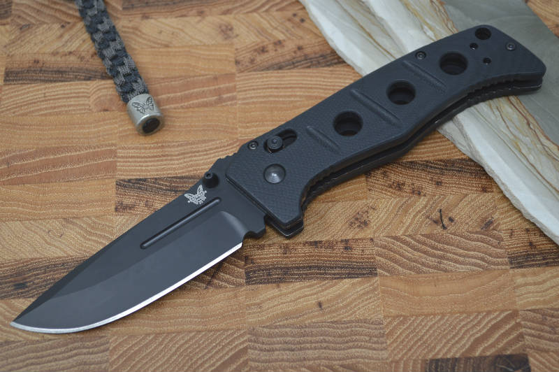 Benchmade 275BK Adamas - Black Blade / Black Handle - Northwest Knives