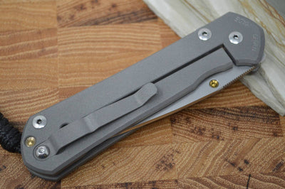 "Chris Reeve Knives Large Sebenza 21 - CGG ""Plated"" - Northwest Knives"