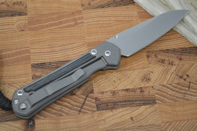 Chris Reeve Knives Small Sebenza 21 - Black Micarta Inlay - Insingo Blade - Northwest Knives