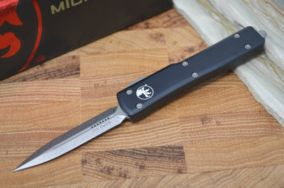 Microtech UTX-70 OTF - Black Handle / Stonewash Blade 147-10 - Northwest Knives