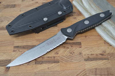 Microtech Socom Alpha S/E - Stonewash Partial Serrated 113-11 - Northwest Knives